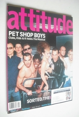 <!--2001-06-->Attitude magazine - The Club Special cover (June 2001)