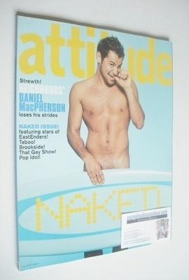 <!--2002-10-->Attitude magazine - Daniel MacPherson cover (October 2002 - I
