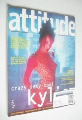 <!--1997-09-->Attitude magazine - Kylie Minogue cover (September 1997 - Iss