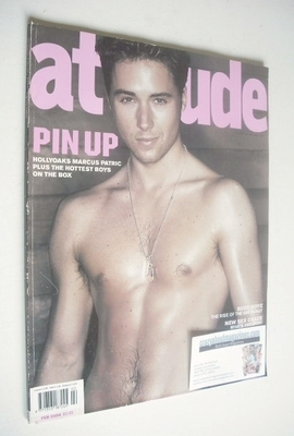 <!--2004-02-->Attitude magazine - Marcus Patric cover (February 2004)