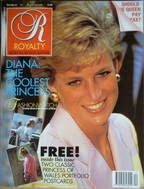 <!--1990-09-->Royalty Monthly magazine - Princess Diana cover (September 19