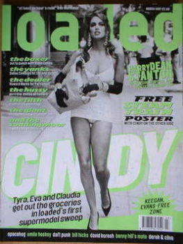 Loaded magazine - Cindy Crawford cover (March 1997)