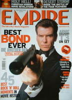 <!--2002-12-->Empire magazine - Pierce Brosnan cover (December 2002 - Issue
