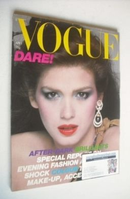 <!--1979-04-01-->British Vogue magazine - 1 April 1979 - Gia Carangi cover