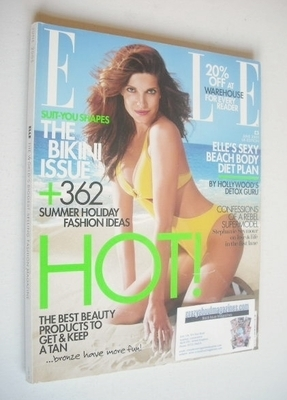 <!--2005-06-->British Elle magazine - June 2005 - Stephanie Seymour cover