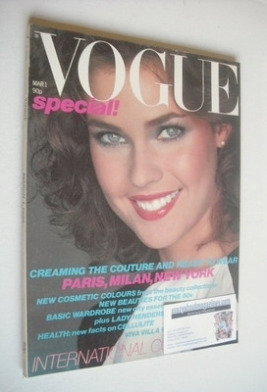 <!--1980-03-01-->British Vogue magazine - 1 March 1980 (Vintage Issue)