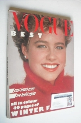 <!--1982-11-->British Vogue magazine - November 1982 (Vintage Issue)