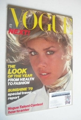 <!--1979-01-->British Vogue magazine - January 1979 (Vintage Issue)