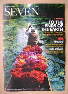 Seven magazine - To The Ends Of The Earth cover (15 September 2013)