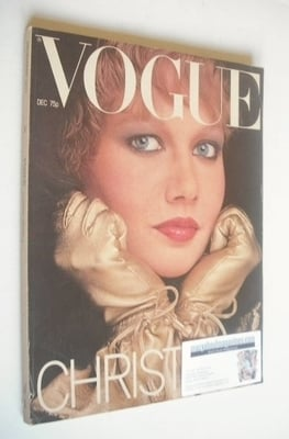 <!--1977-12-->British Vogue magazine - December 1977 (Vintage Issue)
