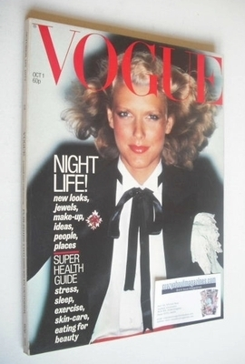 <!--1977-10-01-->British Vogue magazine - 1 October 1977 (Vintage Issue)