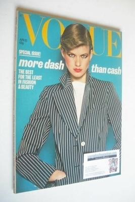 <!--1977-04-15-->British Vogue magazine - 15 April 1977 (Vintage Issue)