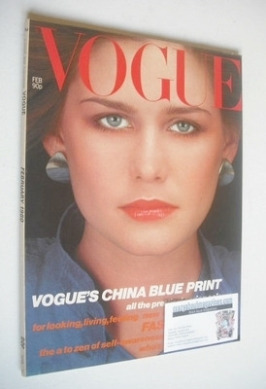 <!--1980-02-->British Vogue magazine - February 1980 (Vintage Issue)