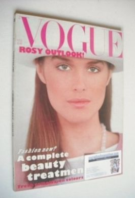 <!--1983-02-->British Vogue magazine - February 1983 (Vintage Issue)