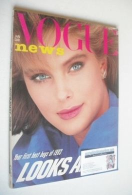 <!--1983-01-->British Vogue magazine - January 1983 (Vintage Issue)