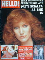 Hello! magazine - Patti Scialfa cover (22 October 1988 - Issue 23)