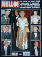 <!--1997-11-29-->Hello! magazine - Queen Elizabeth II and Prince Philip cov