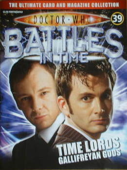 Doctor Who Battles In Time magazine - John Simm and David Tennant cover (Issue 39)