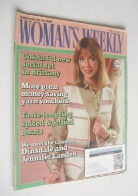 <!--1982-08-28-->Woman's Weekly magazine (28 August 1982 - British Edition)