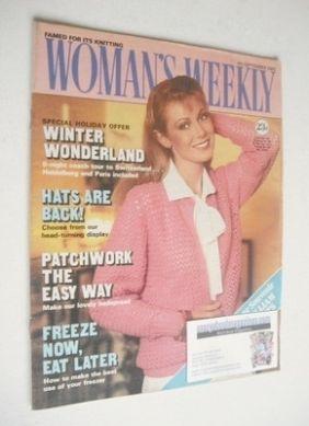 <!--1982-09-04-->Woman's Weekly magazine (4 September 1982 - British Editio