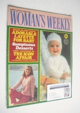 <!--1982-06-12-->Woman's Weekly magazine (12 June 1982 - British Edition)