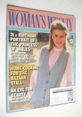 <!--1982-07-03-->Woman's Weekly magazine (3 July 1982 - British Edition)
