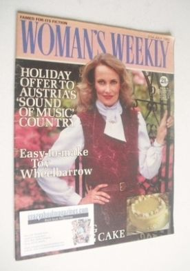 <!--1982-07-31-->Woman's Weekly magazine (31 July 1982 - British Edition)