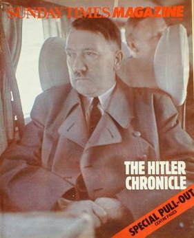 <!--1983-05-08-->The Sunday Times magazine - Adolf Hitler cover (8 May 1983