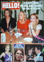 <!--2007-02-20-->Hello! magazine - The Spice Girls cover (20 February 2007