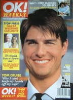 OK! magazine - Tom Cruise cover (14 July 1996 - Issue 17)