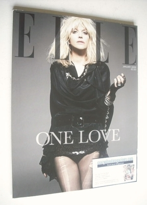 <!--2009-01-->British Elle magazine - January 2009 - Courtney Love cover (S