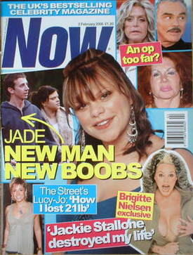 <!--2005-02-02-->Now magazine - Jade Goody cover (2 February 2005)