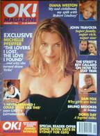 OK! magazine - Michelle Pfeiffer cover (January 1996)