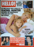 <!--1999-09-28-->Hello! magazine - Rachel Hunter cover (28 September 1999 -