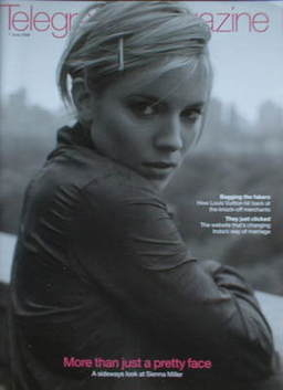 <!--2008-06-07-->Telegraph magazine - Sienna Miller cover (7 June 2008)
