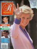 <!--1990-06-->Royalty Monthly magazine - Princess Diana cover (June 1990, V