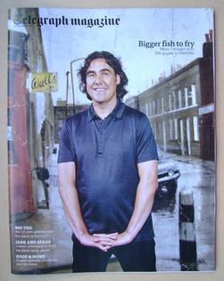 <!--2013-09-21-->Telegraph magazine - Micky Flanagan cover (21 September 20