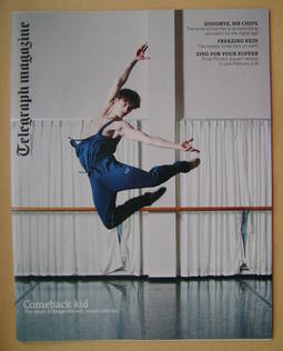 <!--2013-02-02-->Telegraph magazine - Sergei Polunin cover (2 February 2013
