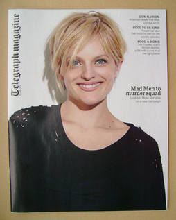 <!--2013-06-29-->Telegraph magazine - Elisabeth Moss cover (29 June 2013)
