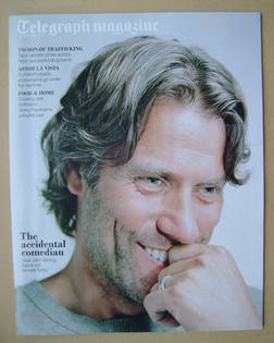 <!--2012-09-15-->Telegraph magazine - John Bishop cover (15 September 2012)