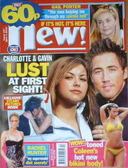 New magazine - 4 April 2005 - Charlotte Church and Gavin Henson cover