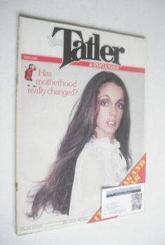 Tatler & Bystander magazine - November 1979 - Mrs David Mindel cover