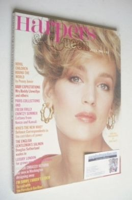 <!--1982-07-->British Harpers & Queen magazine - July 1982 - Jerry Hall cov
