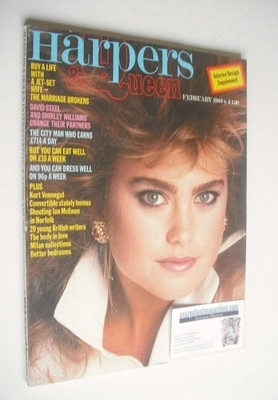 <!--1983-02-->British Harpers & Queen magazine - February 1983