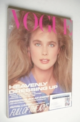 <!--1981-06-->British Vogue magazine - June 1981 (Vintage Issue)
