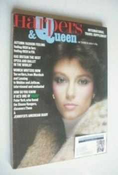 <!--1976-10-->British Harpers &amp; Queen magazine - October 1976