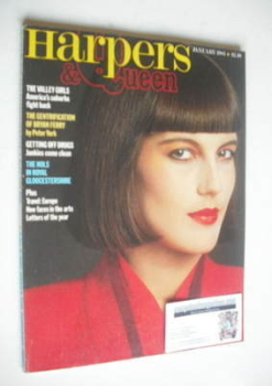 <!--1983-01-->British Harpers &amp; Queen magazine - January 1983