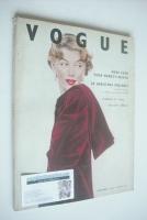 <!--1952-11-->British Vogue magazine - November 1952 - Marilyn Monroe cover