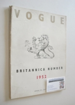 <!--1952-02-->British Vogue magazine - February 1952 (Vintage Issue)