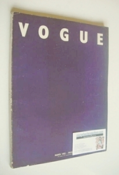 <!--1952-03-->British Vogue magazine - March 1952 (Vintage Issue)